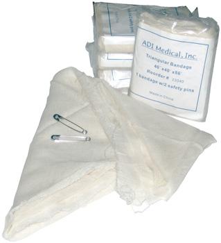 Bandage triangulaire (paquet de 12)