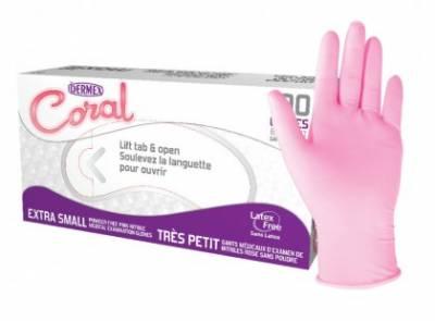 Gant nitrile Dermex CORAL