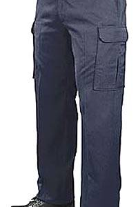 Pantalon cargo blue black