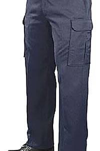 Pantalon cargo blue black