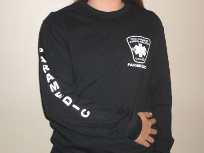T-Shirt MANCHE LONGUE Paramedic