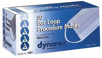Masque chirurgicaux Dynarex