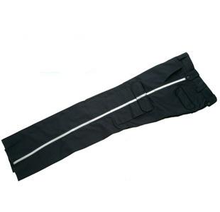 Pantalon cargo Blue Black avec bandes réfléchissantes