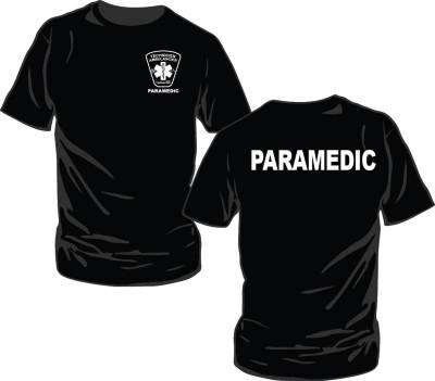 T-Shirt PARAMEDIC avec logo TAP QUÉBEC