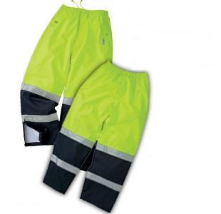 Pantalon imperméable doublé 2 tons