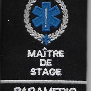 Épaulette simple Maitre de Stage