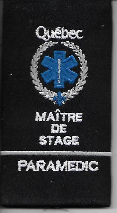 Épaulette simple Maitre de Stage
